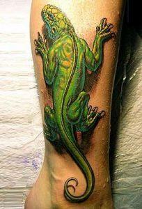 tatuaje lagarto